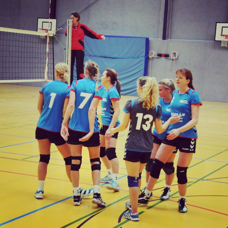Mannschaftsfoto beim Spiel